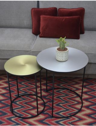 Bradford Round Nested Side Table