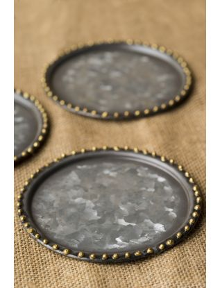 Metal Coasters (Set of 6)