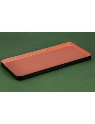 Rust Enamel Rectangle Tray-Medium