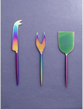 Rainbow Cheese Knives (SET OF 3)