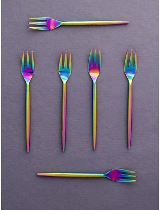 Rainbow Forks (Set of 6)