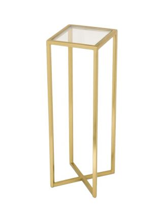 Alissa Side Table -  Gold
