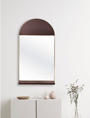 Rokeby Shelved Wall mirror