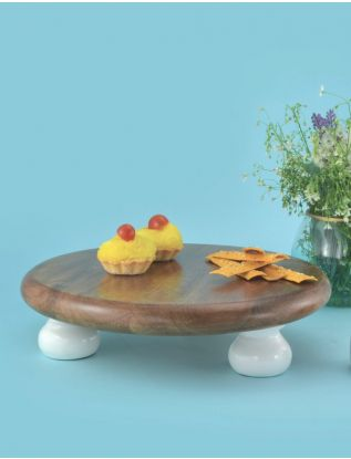 The Earth Enamel Cake Stand - Large