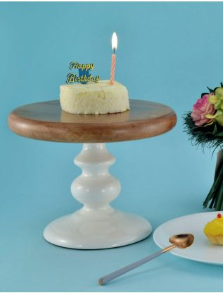The Earth Enamel Cake Stand - Small