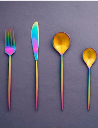 Rainbow Cutlery (Set of 4)