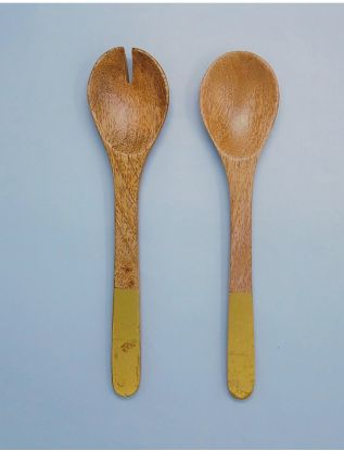 The Gold Salad Servers