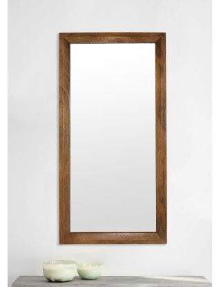 Wooded Manor Mirror - Natural