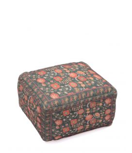 Floral Glory Ottoman