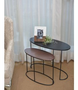 Charlie Oblong Side Table