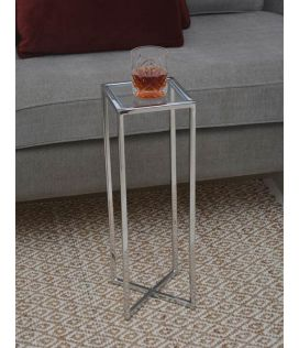 Alissa Side Table - Stainless steel