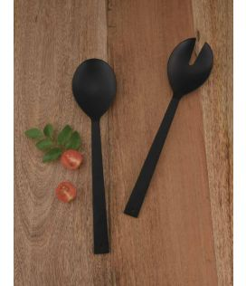 Black Matt Salad Servers  (Set of 2)