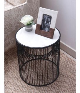 Arius Side Table - Black