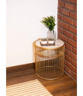Arius Side Table - Gold