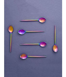 Rainbow Dessert Spoons(Set of 6)
