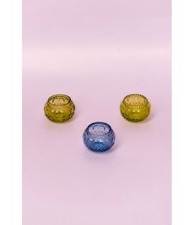 Matki Glass Votive (Set of 3)